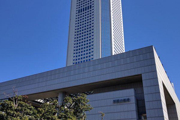 文化施設に恵まれ、高層ビルと住宅街の調和した町「初台」