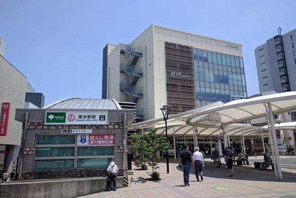 駅前開発で変わり続ける、変わらないゆったりとした街「東中野」
