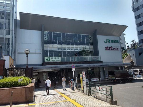 武蔵野台地の坂が奥行のある街並みを形成する「田端」