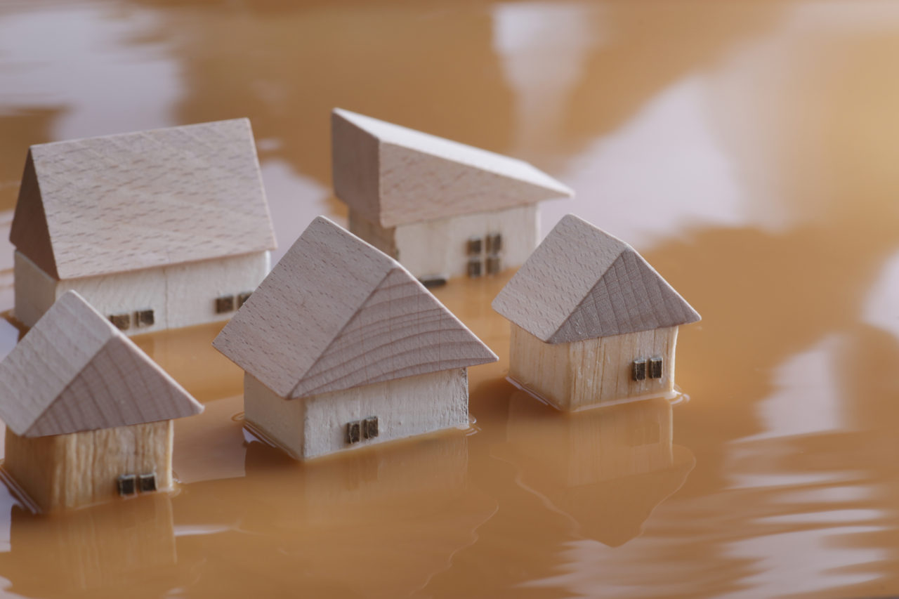 1階の物件で注意したい水災